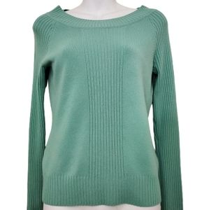 Takeout Ribbed Long Sleeve Sweater